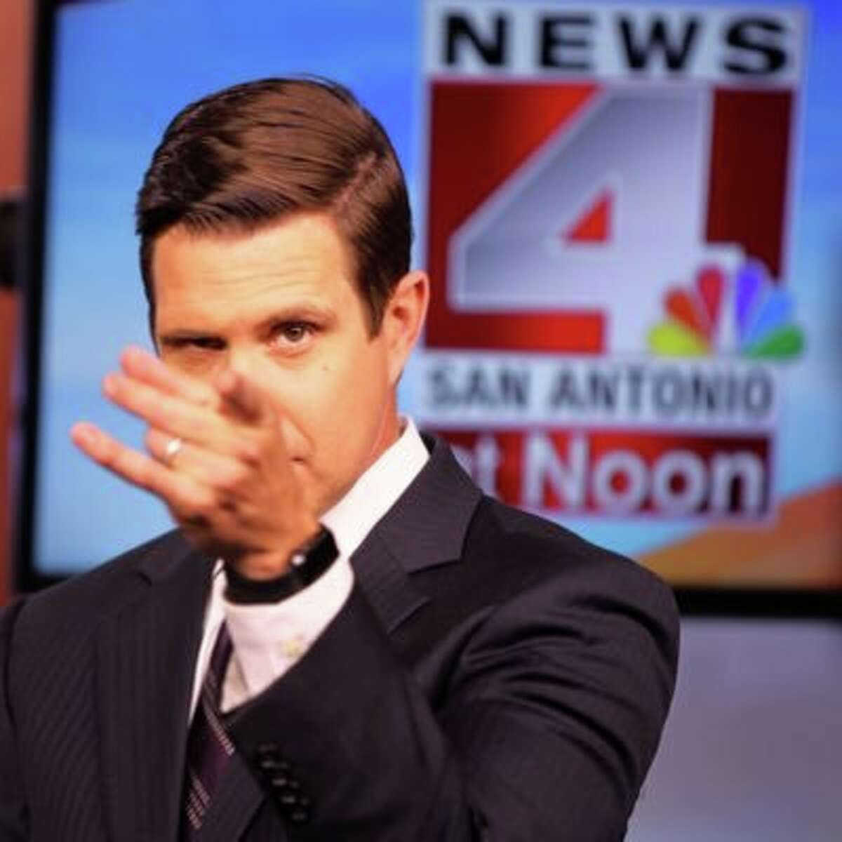News 4 San Antonio anchor David Chancellor