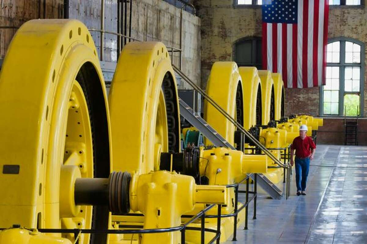 Hydroelectric plants like this one in Saratoga County are part of NY's clean energy mix.
