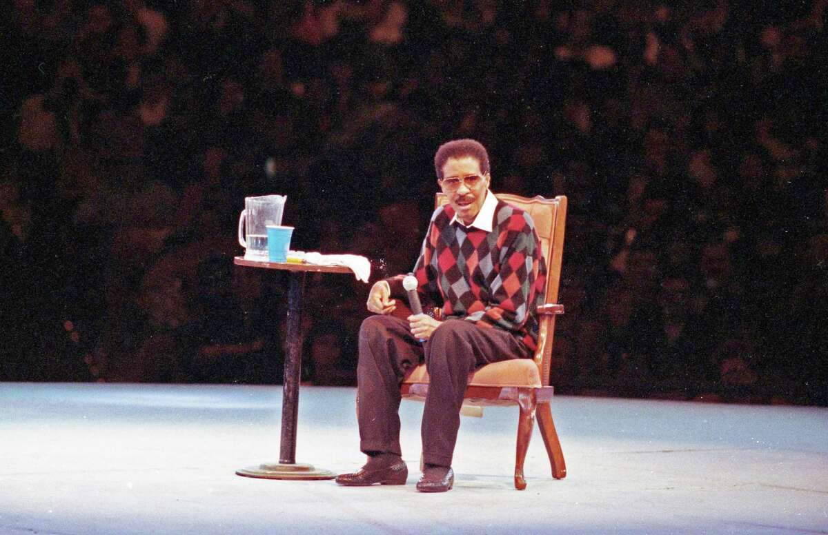 Oct. 31, 1992: Richard Pryor performs at the Circle Star Theatre in San Carlos.