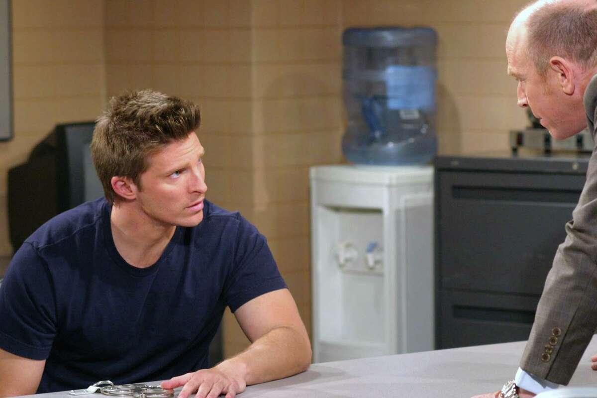 "GENERAL HOSPITAL - Steve Burton (Jason) and Corbin Bernsen (John) in a scene that airs the week of April 3, 2006 on ABC Daytime's ""General Hospital."" ""General Hospital"" airs Monday-Friday (3:00 p.m. - 4:00 p.m., ET) on the ABC Television Network. (ABC/CAROL KAELSON) STEVE BURTON, CORBIN BERNSEN"