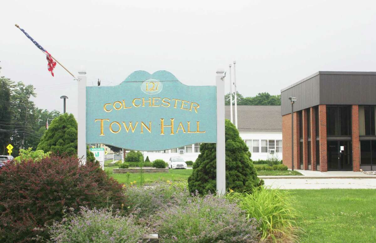 Colchester Town Hall is located at 127 Norwich Ave.