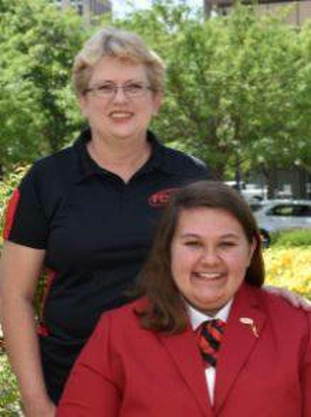 Regina Birch and Abby Jarnagin