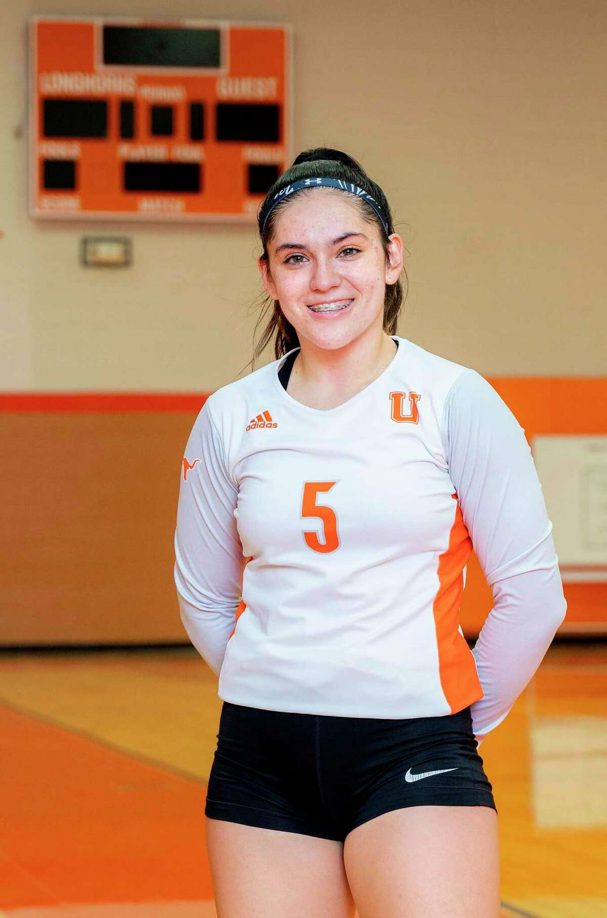 United junior setter Erika Peimbert is averaging a city-high 22 assists per game to help the Lady Longhorns build a 7-1 start to the season.