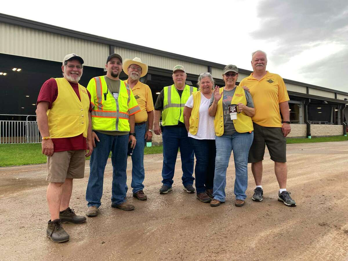 The Fort Bend County Fair and Rodeo is ready to hold its Volunteer Recruitment Day on Wednesday, Aug. 25, at the fairgrounds in Rosenberg. Here, committee members pause together for a photo.