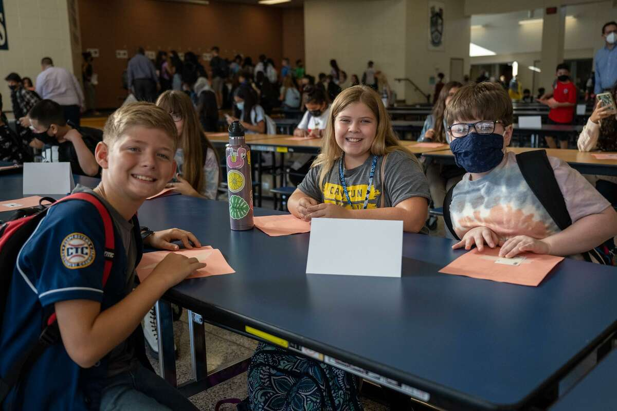 Klein ISD welcomed their students back for the first day of the school year on Wednesday, Aug. 18, 2021.