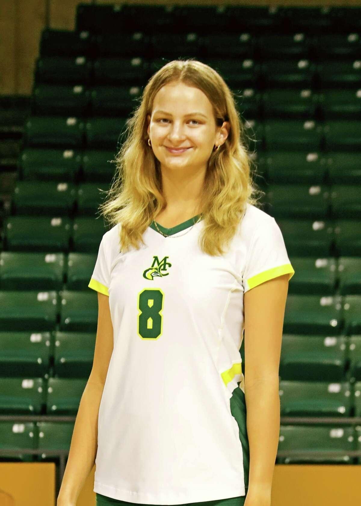 Midland College's Lucie Maceckova