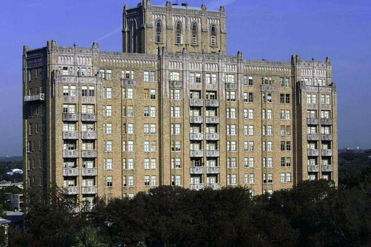 The Aurora Apartments.