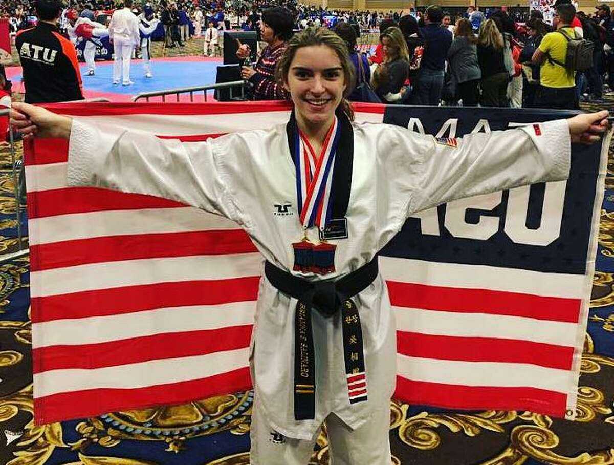 Brianna Salinaro graduated from Sacred Heart University in 2020 and will be the first female to compete in parataekwondo for Team USA. Salinaro is the first athlete with cerebral palsy to compete in the sport on the world stage.
