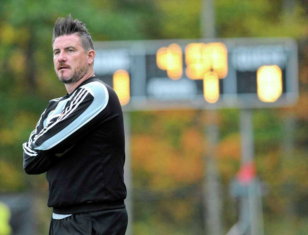 Neil Phillips is the new boys soccer coach for Hand.