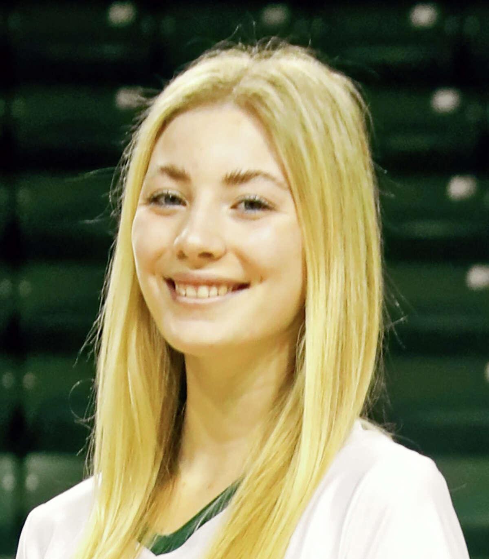 Midland College volleyball player Petra Fernandez