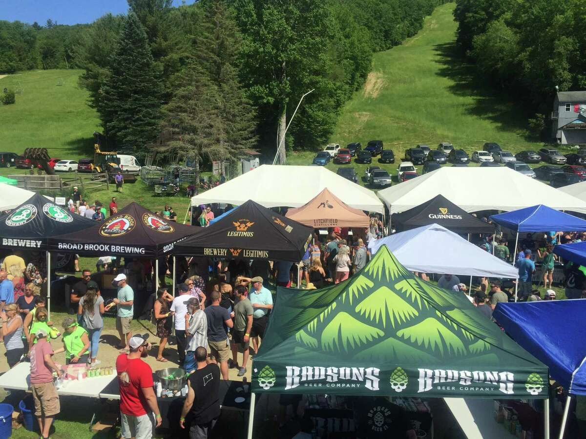 A scene from the 2019 Litchfield Hills Brewfest.