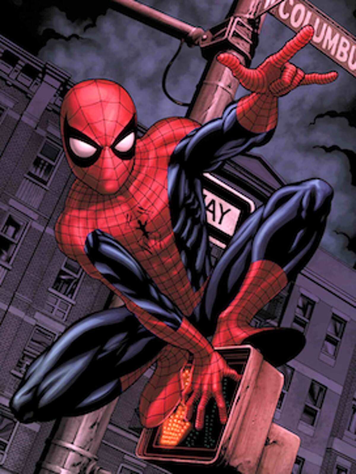 Spiderman is one of the most popular comic book superheroes.
