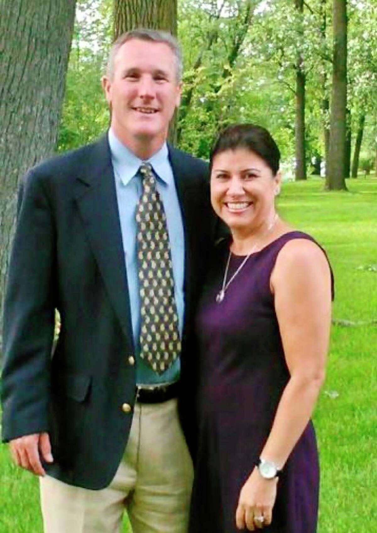 Michael and Claudia Goad will be the chairs for Midland's Open Door's2021 annual fundraiser, Dine on the Door. (Photo provided)