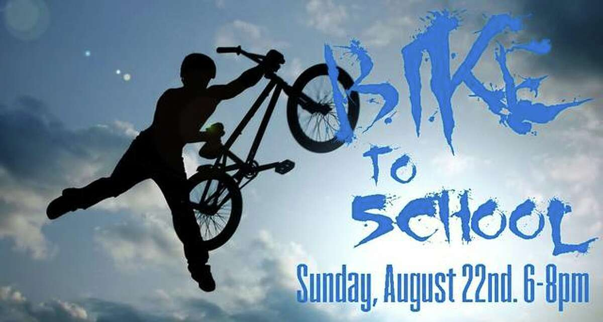 Jerseyville UMC will host a Bike to School event from 6-8 p.m. Sunday, Aug. 22. Participants will bike/skate from the church to Dairy Queen for some ice cream, hit the park, and then skate back to church for some fun in the parking lot.