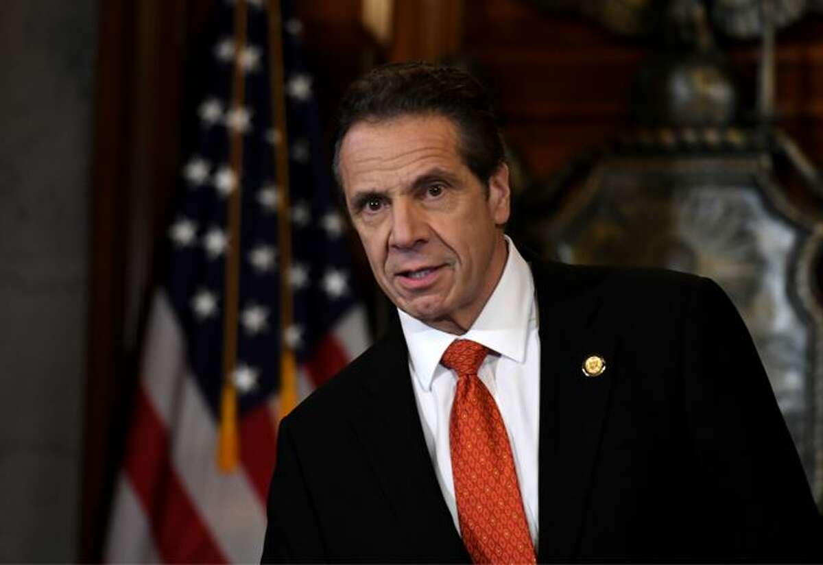 """Andrew Cuomo is the main """"antagonist"""" in a new play by former political consultant Hank Morris who was prosecuted by Cuomo when he was attorney general."""