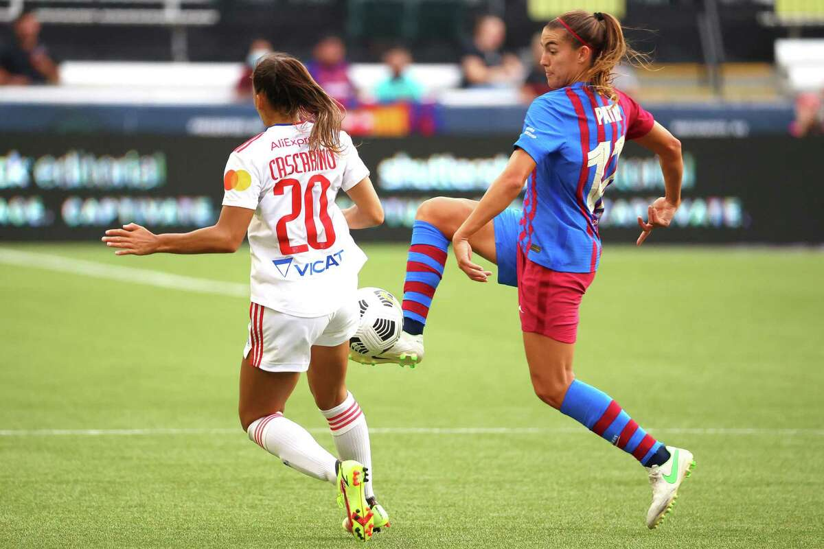 FC Barcelona and Alexia Putellas (11) will be the next challenge for the Dash in the Women's International Champions Cup.
