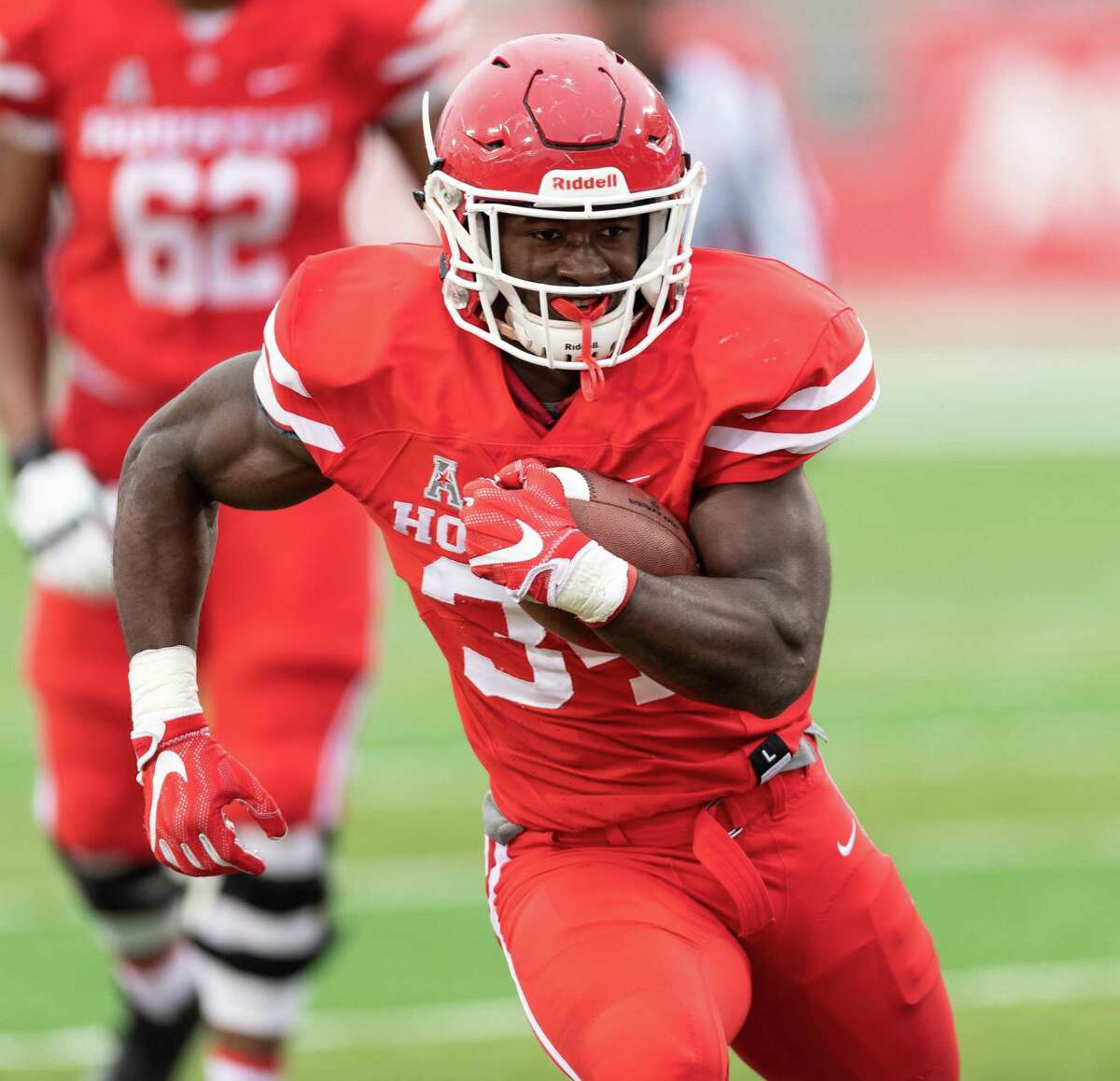 Mulbah Car is back for a sixth season as the 'old man' of the UH offense.