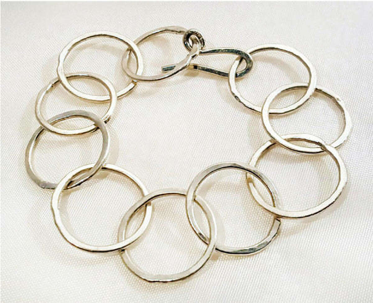 In this year's Midwest Salute to the Arts' jewelry category, a bracelet by Shannon Green.