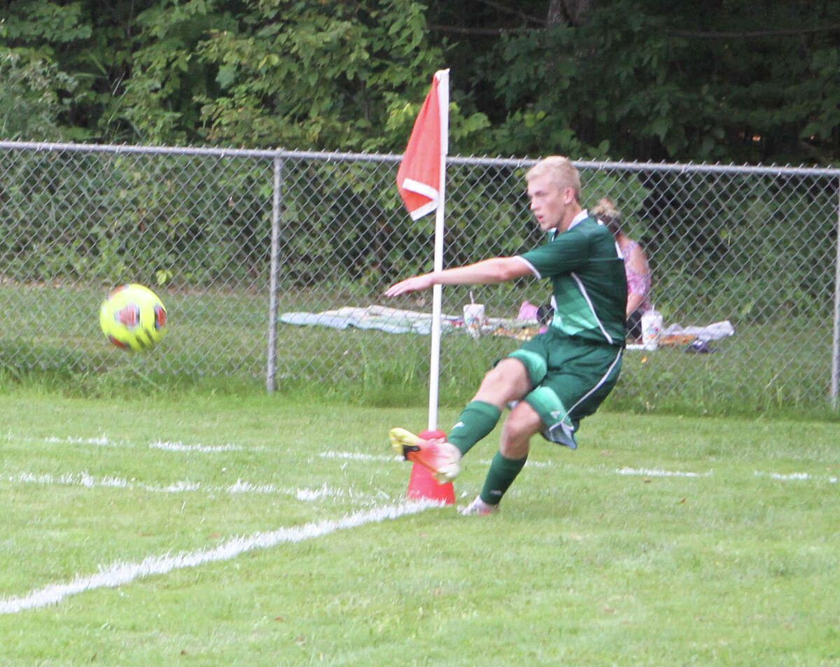 On Friday evening, the Pine River soccer team defeated Chippewa Hills 3-0 to open the regular season.