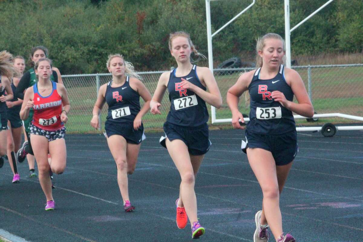 Big Rapids cross country girl runners will be at Chippewa Hills on Tuesday. (Pioneer file photo)