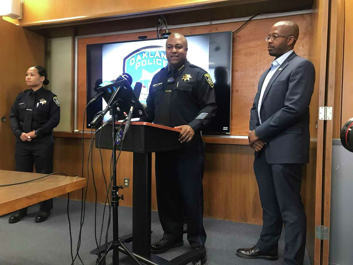 Oakland Police Chief LeRonne Armstrong sharply criticized the City Council's decision to redirect $18 million from the Police Department.