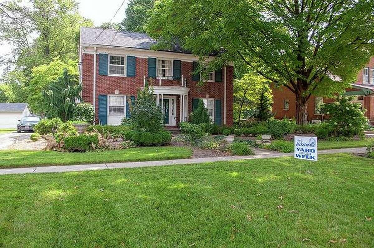 The yard of Jane Tavender at 296A Sandusky St. is this week's recipient of Jacksonville Mayor Andy Ezard's Yard of the Week honor. Ezard is showcasing the efforts homeowners make to keep their property looking nice.