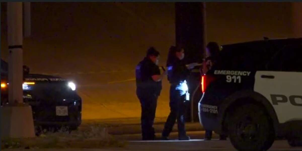 Police investigating a fatal shooting Friday night on the South Loop East service road near Martin Luther King Boulevard.