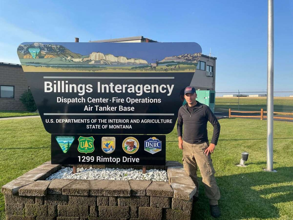 Westport Deputy Fire Chief Michael Kronickworked to battle and contain wildfires in Minnesota and Montana.