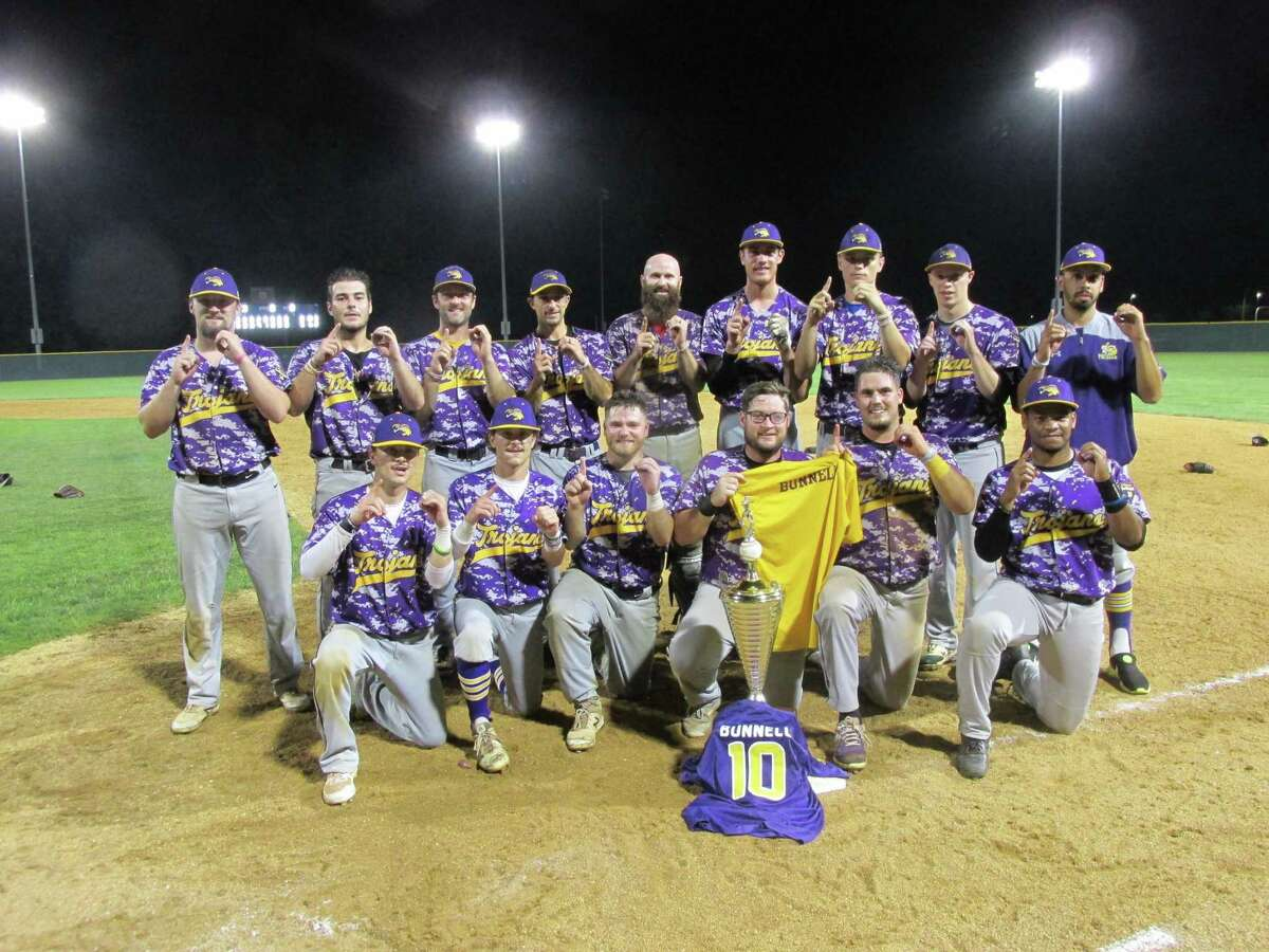 The Tri-Town Trojans dedicated their Tri-State Baseball League championship to former teammate Joe Bunnell Friday night after a final win over the Terryville Black Sox in their best-of-three championship series at Waterbury's Municipal Stadium.