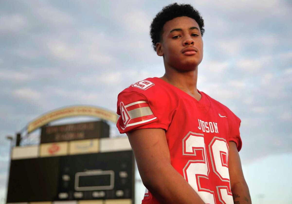 Judson football player Treylin Payne, linebacker, on Wednesday, Sept. 16, 2020.