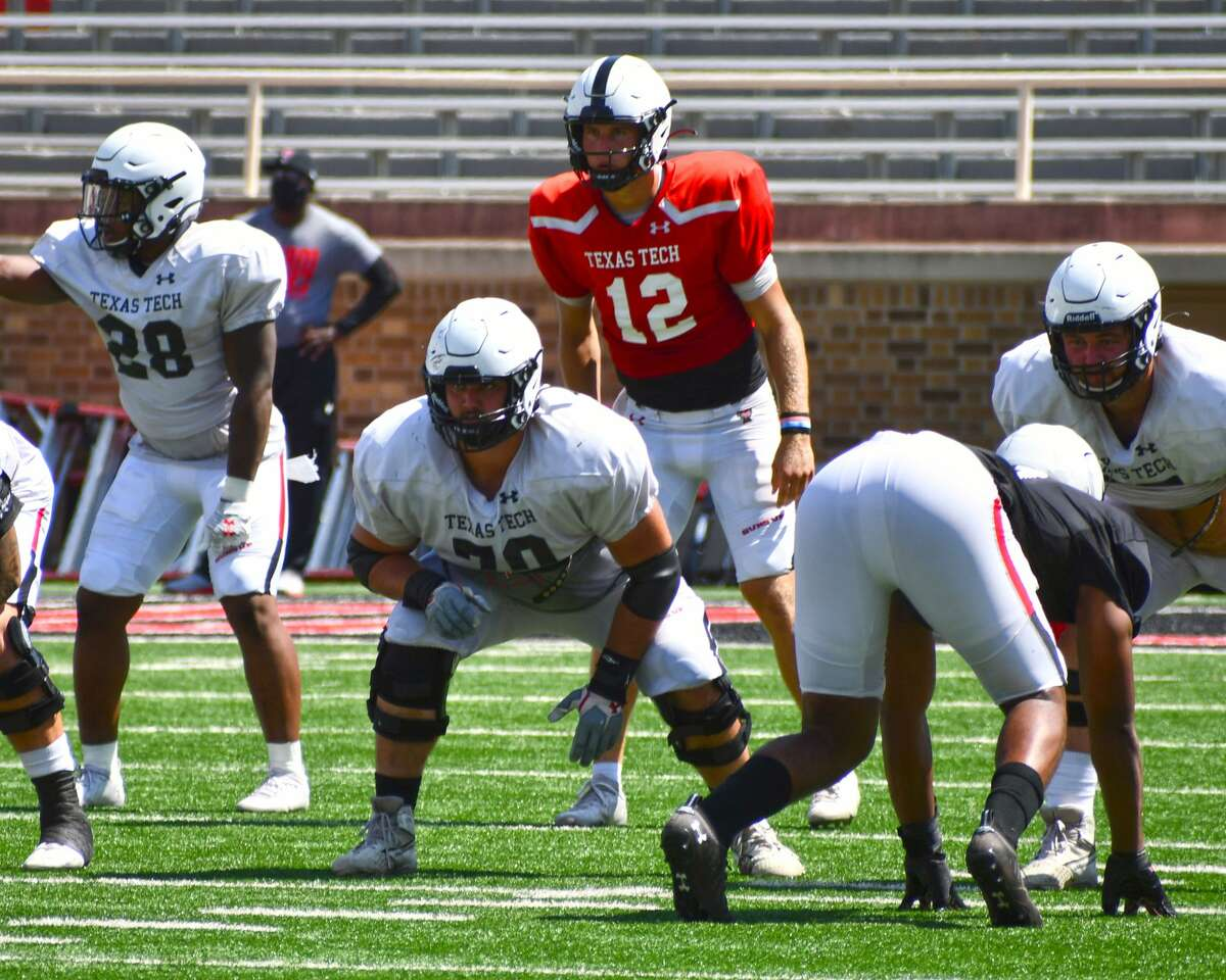 The Texas Tech football team hosted an intrasquad scrimmage on Saturday in Jones AT&T Stadium in Lubbock.