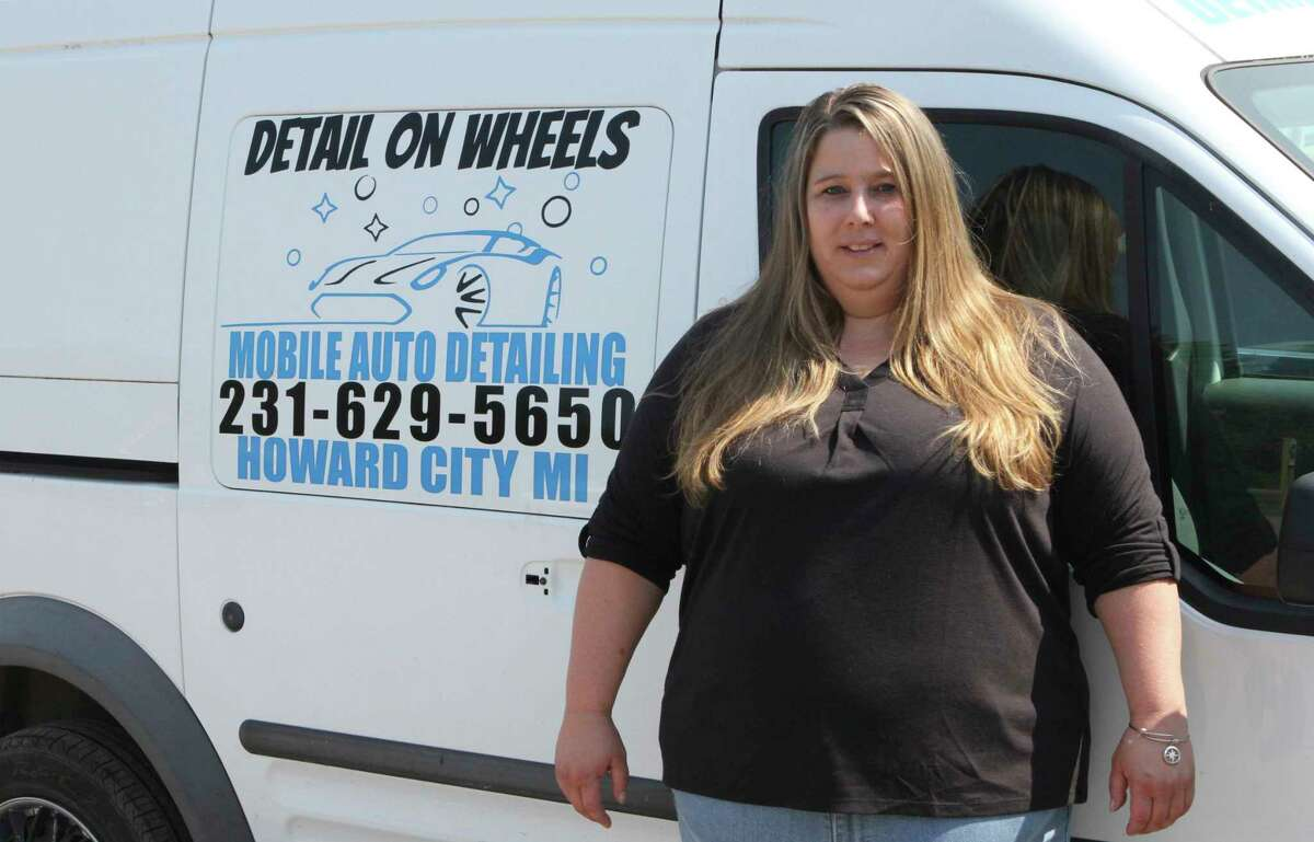 Current Detail on Wheels owner Dezirae Dexter said she want wants to carry the bright torch that her husband lit four short years ago. (Pioneer photo/Joe Judd)