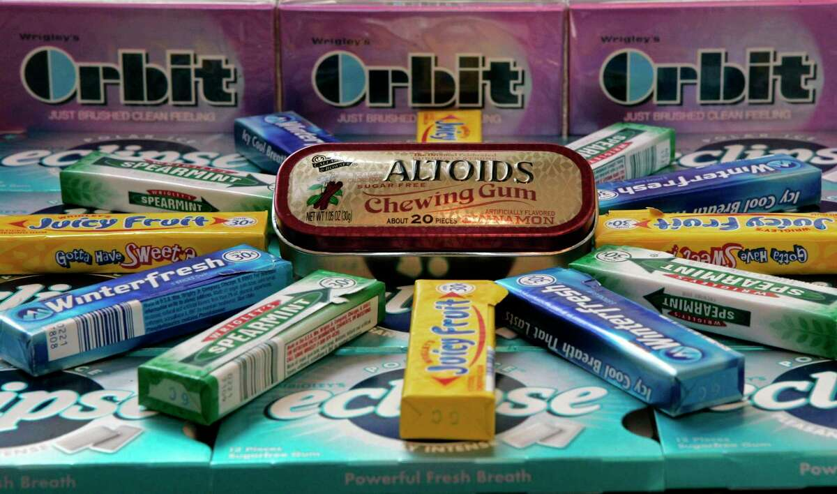 Some of Wrigley's gum brands.