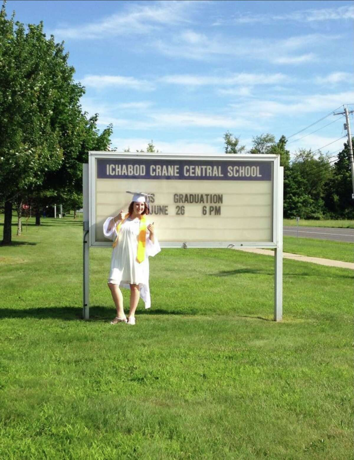 3. I graduated from Ichabod Crane High School, AKA the school that always closes because of the snow, in 2015.