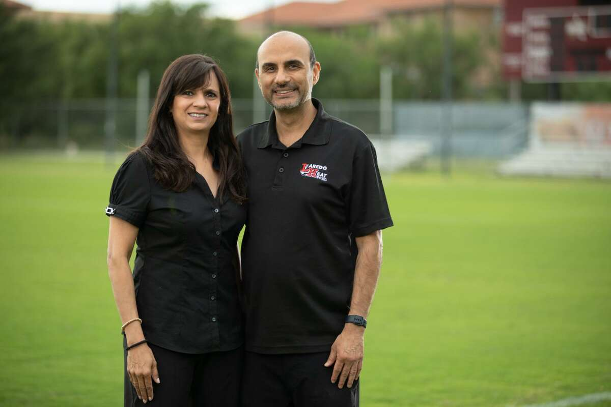 Priya and Shashi Vaswani founded the Heat in 2004 with the goal of developing youth soccer in Laredo.