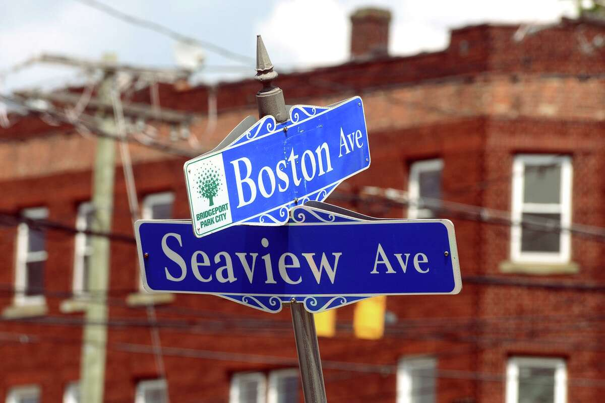 The intersection of Boston Ave. and Seaview Ave., in Bridgeport, Conn. July 28, 2021.