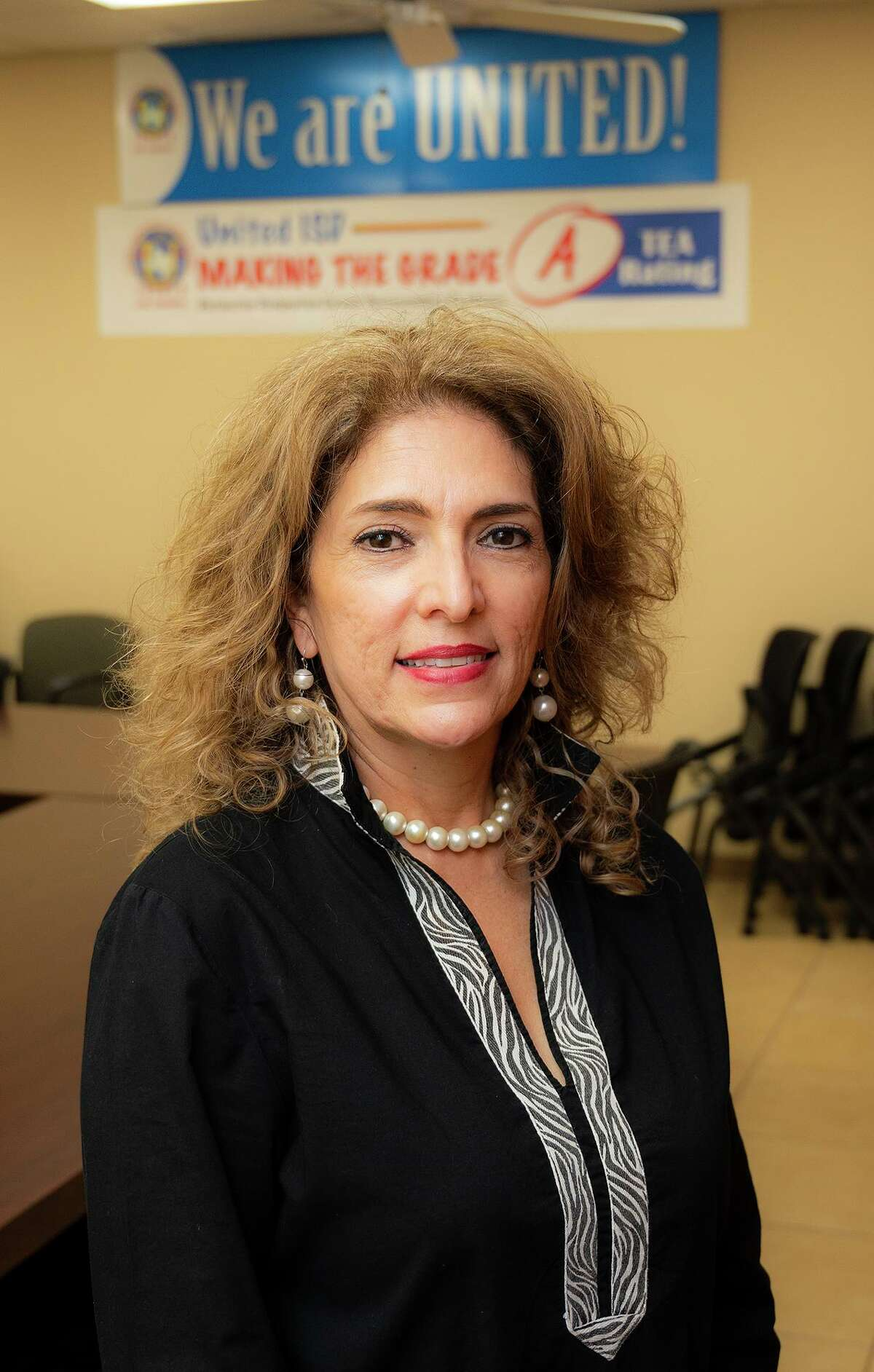 UISD Director of Guidance & Counseling Melissa Ramirez poses for a photo, Thursday, Aug. 19, 2021, at the UISD Curriculum and Instruction offices.