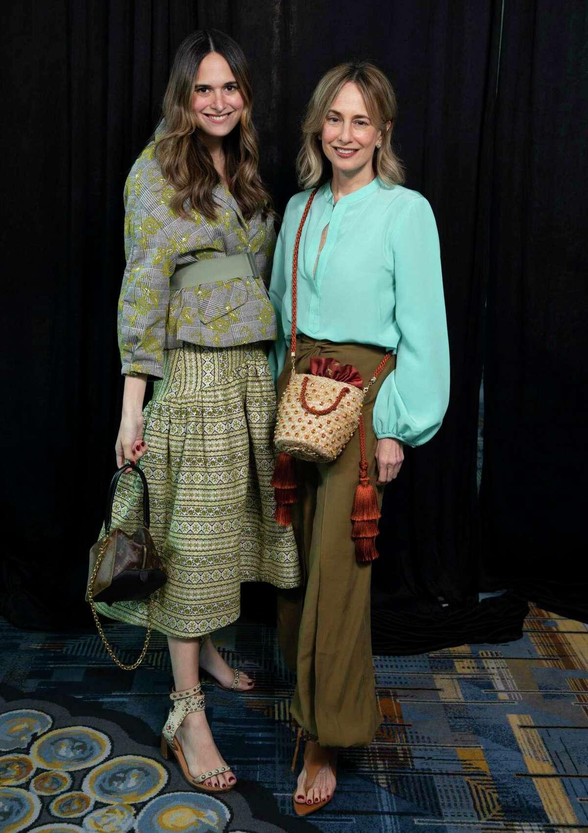 Designers Silvia Tcherassi, right, and daughter Sofia Tcherassi pose Friday.