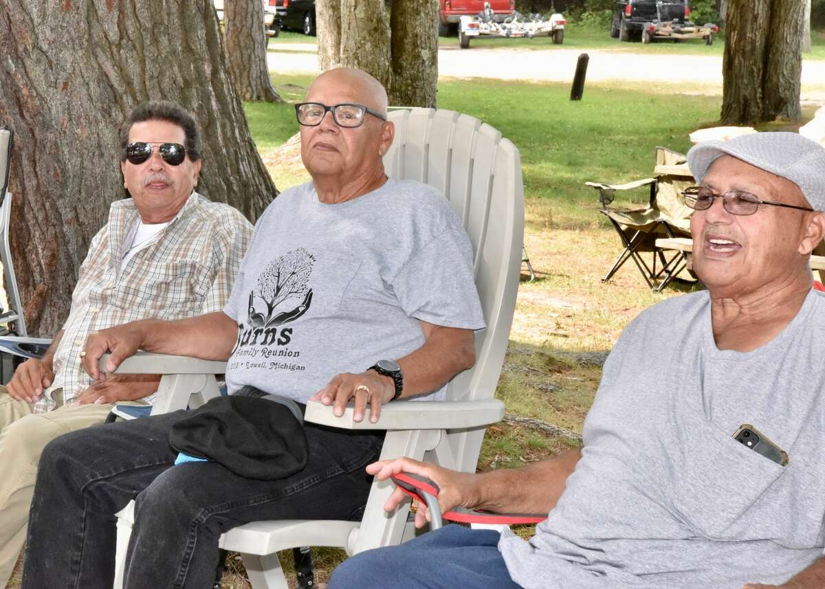 Attendees of the Old Settlers Reunion enjoyed an afternoon together Saturday during the picnic at School Section Lake in Mecosta County.
