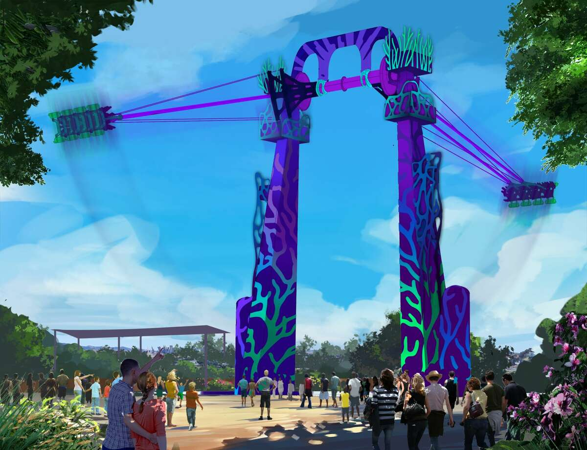 SeaWorld San Antonio will soon feature the world's tallest swing, with a staggering height of 135 feet at its peak.