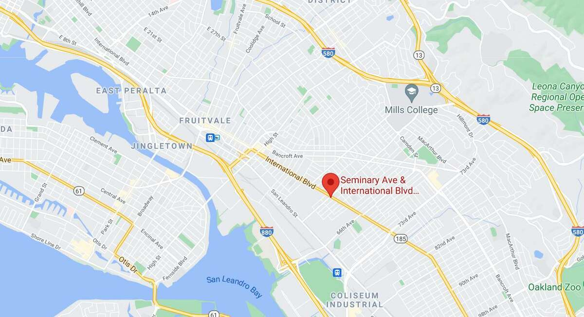 A 33-year-old man died Sunday in a fatal car crash in East Oakland.