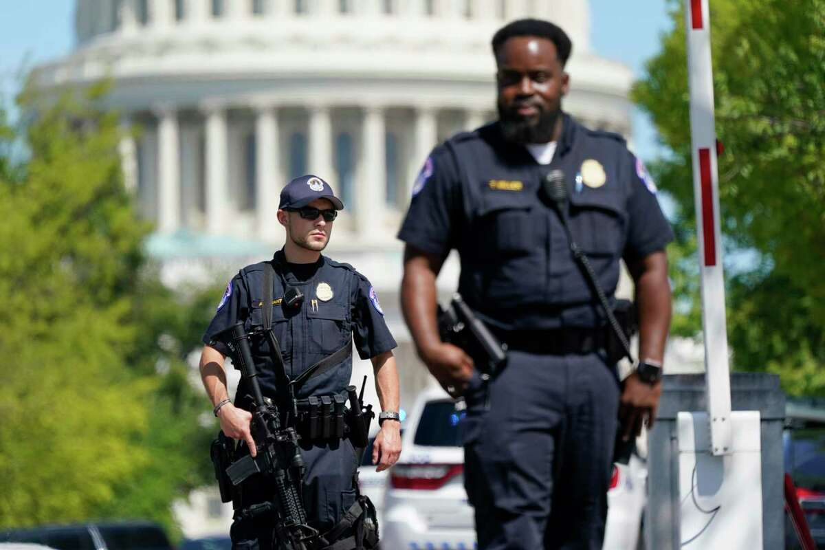 U.S. Capitol Police officers in Washington, D.C., plan to open field offices in California and Florida amid increasing threats to Congress members after the Jan. 6 attack at the Capitol.