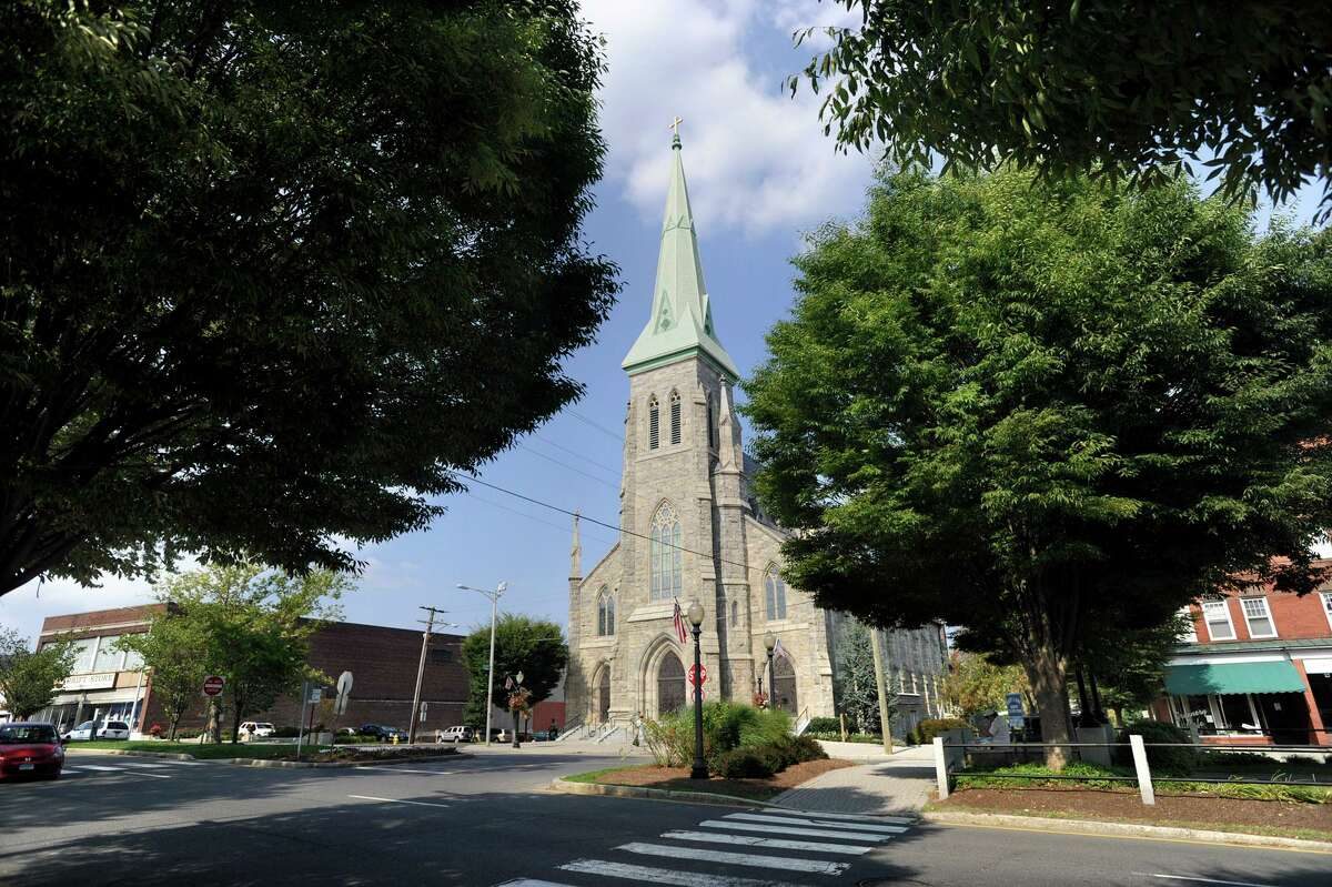 St. Peter Catholic Church on Main Street in Danbury Wednesday, Sept. 1, 2010.