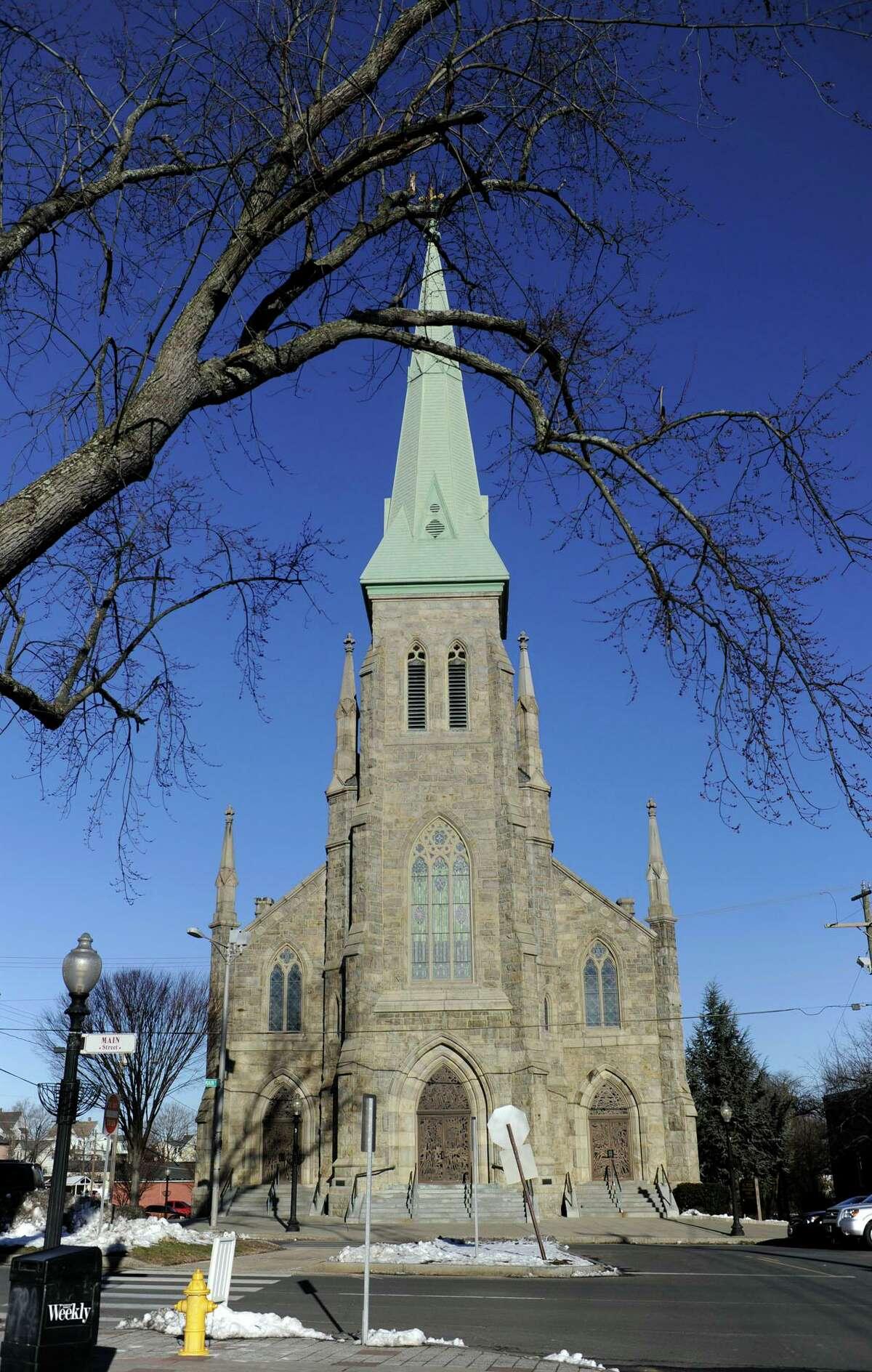 St. Peter Roman Catholic Church on Main Street, Danbury, Conn., Friday, January 18, 2013.