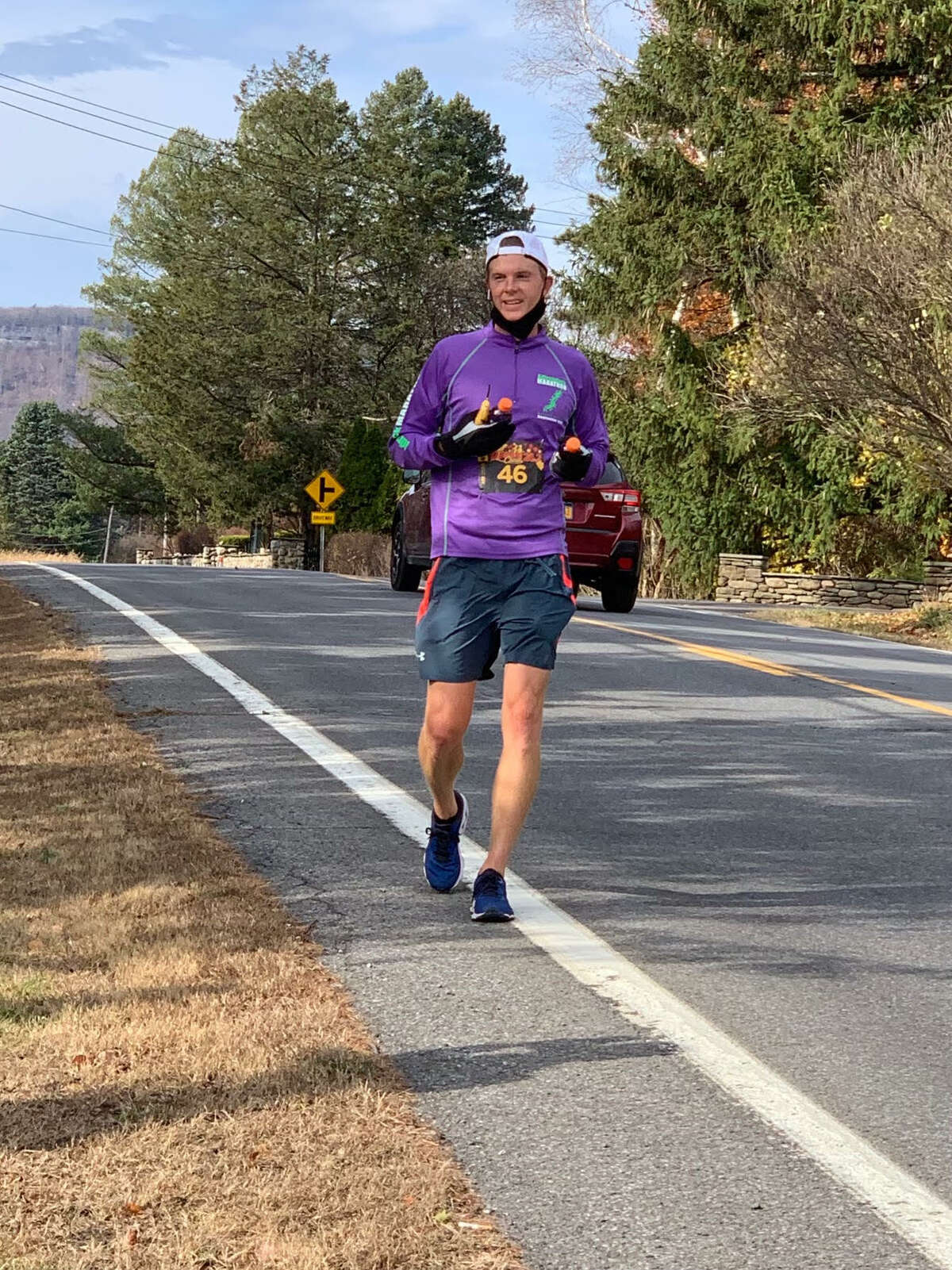 Venter has been training for his 40mile run since March. (Credits: Ryan Venter)
