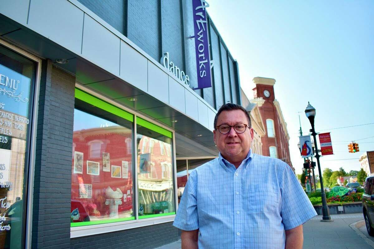 Ric Underhile recently joined Artworks as the organization's newest executive director. (Pioneer photo/Olivia Fellows)