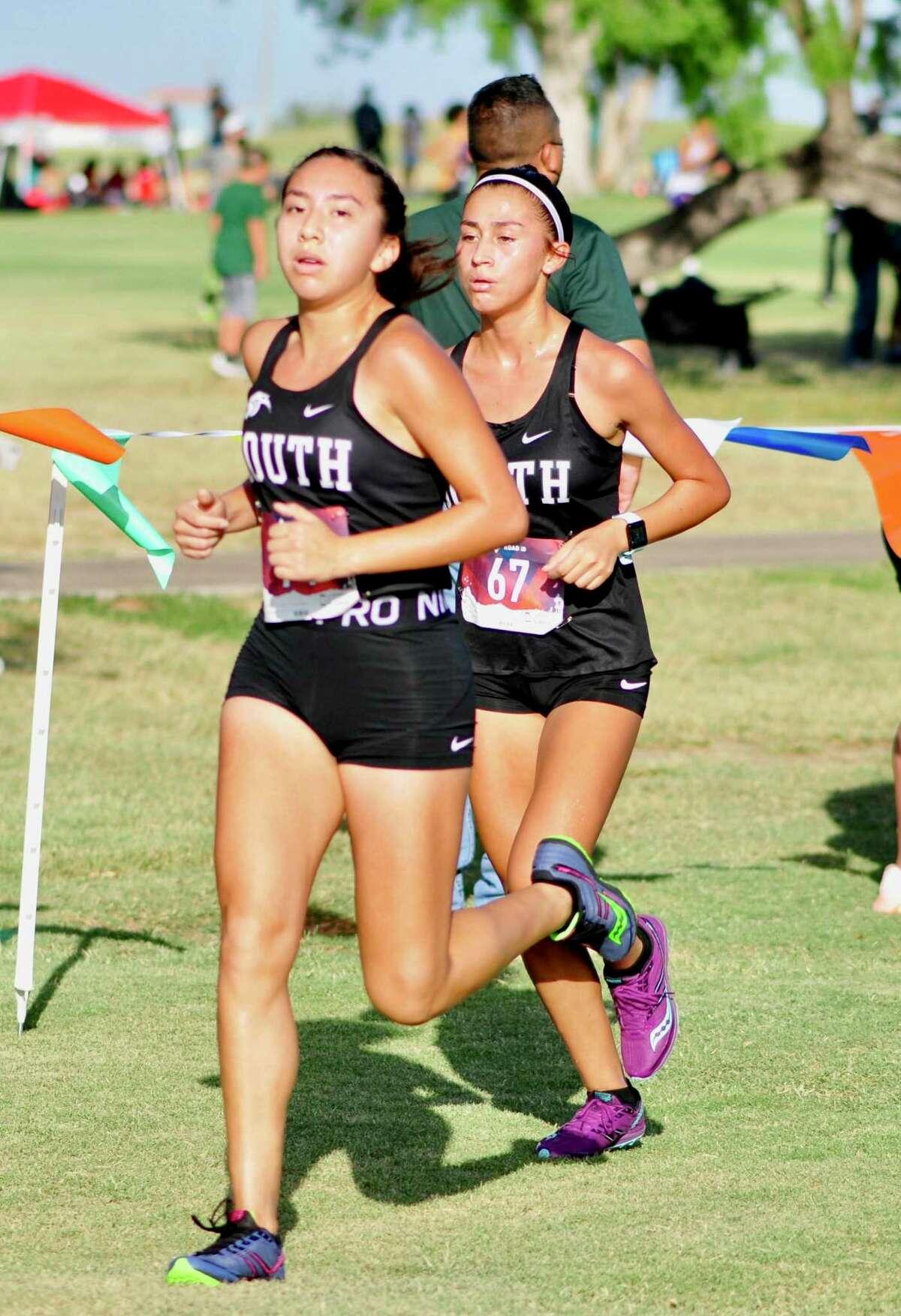 United South won the Border Olympics girls' team title.