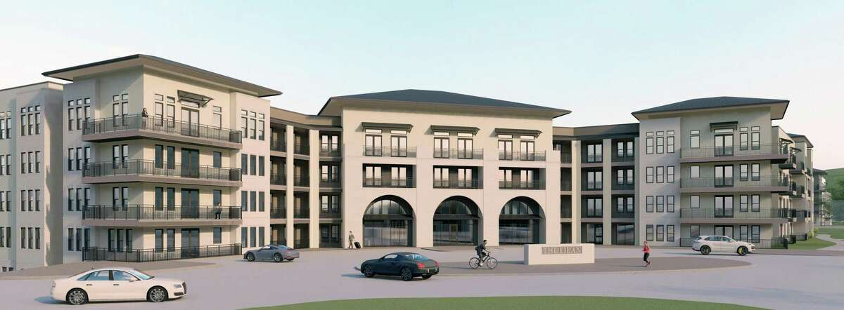 A rendering of Criterion Development Partners' project at the Éilan development.