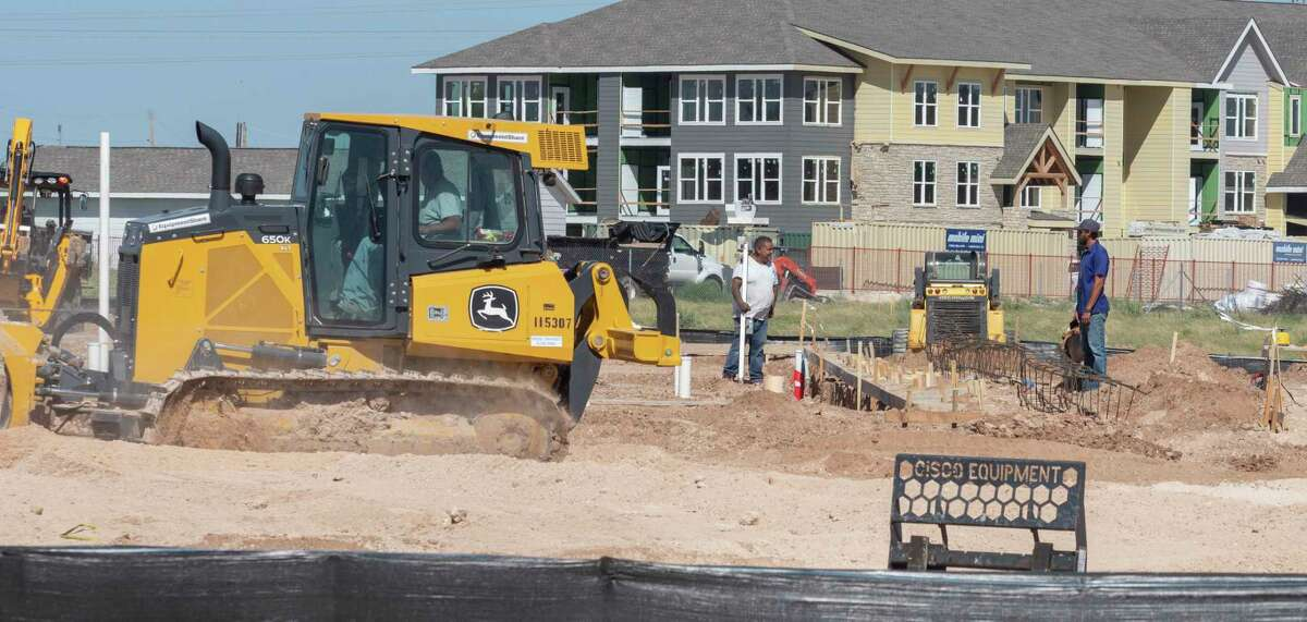 Work has started 08/23/2021 on the newest Dollar General store in the 2300 block of North Fairgrounds. Tim Fischer/Reporter-Telegram