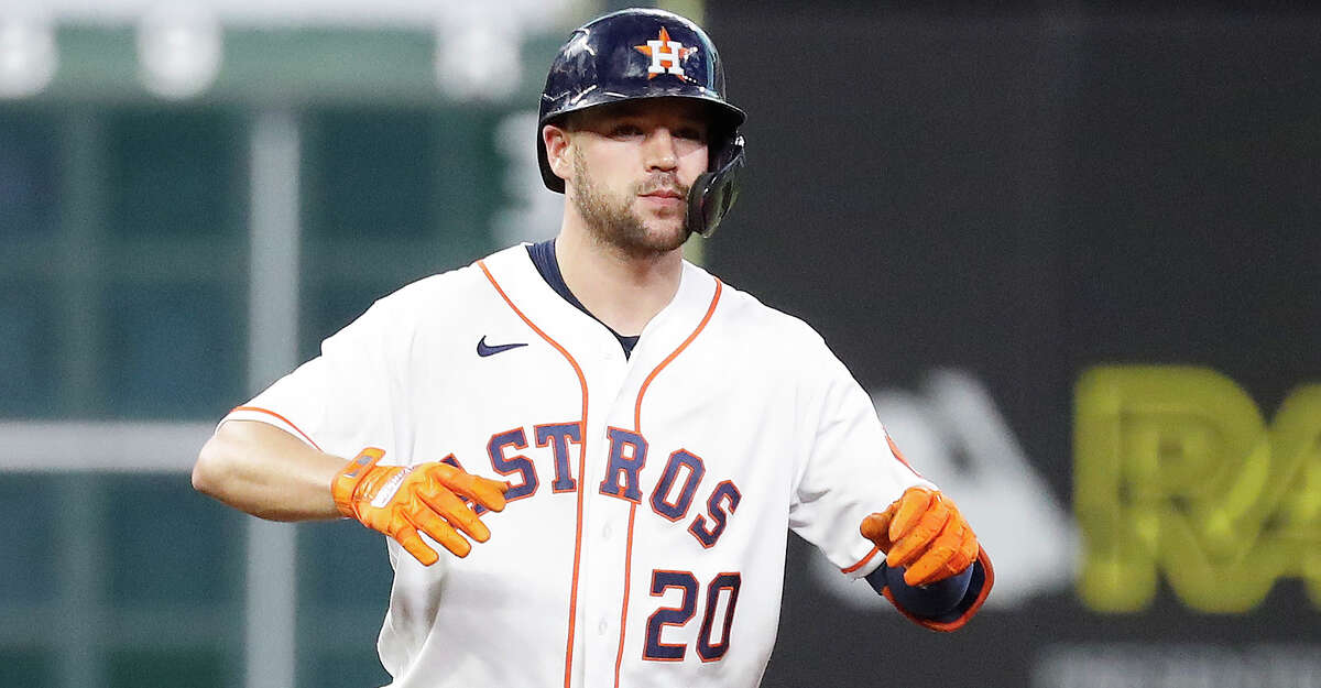 Chas McCormick would seem to be a candidate to fill one of the Astros' two open roster spots, but he can't be activated until Thursday and the spots must be used before Wednesday's game.
